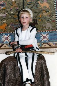 Prince Leka II as a youngster