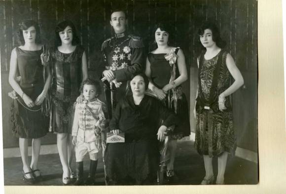 The Albanian Royal Family 1928