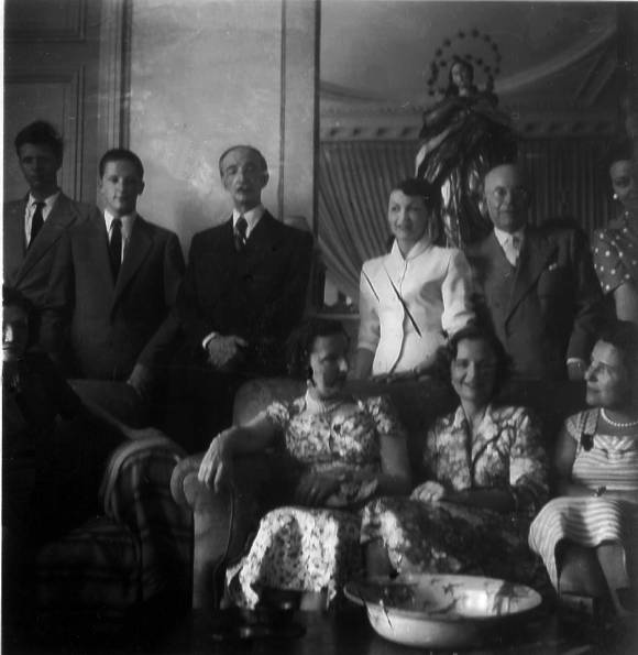 Albanian and Bulgarian Royal families in Exile, Egypte