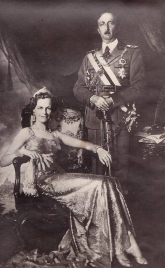 Queen Geraldine and King Zog